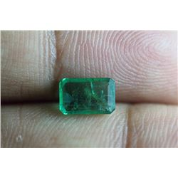 Natural Emerald .95 Carats - no Treatment