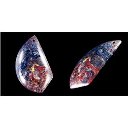 Natural Pietersite Diamond Polished Pendant
