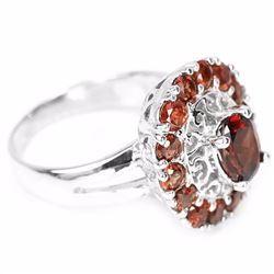 Natural Stunning Garnet 31 Carats Ring