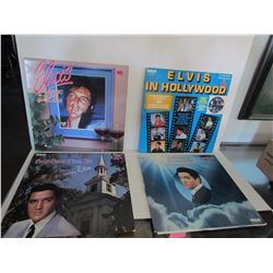 "4 Excellent Condition ""Elvis Presley"" Record (see pictures for titles"