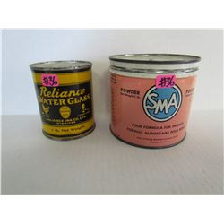SMA Ford Formula For Infants Tin + Reliance Water Glass 1lb ( sealed never opened)
