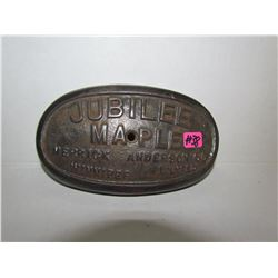 Jubilee Maple Merrick Anderson Advertising from wood stove