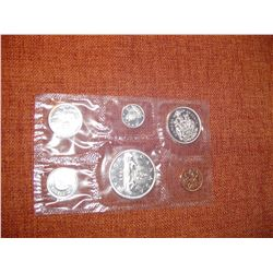 1963 Canadian uncirculated coin set