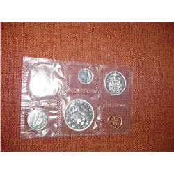 1962 canadian uncirculated coin set
