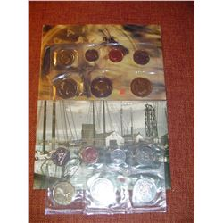 2001 2002 canadian uncirculated coin sets