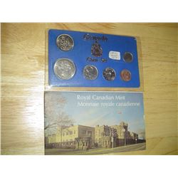 1971 and 1975 canadian uncirculated coin sets