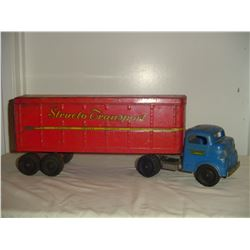 1940's Stucto transport metal truck