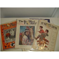 lot of 12 1933 Northwest farmer magazines