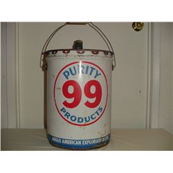 5 gallon Purity 99 oil pail