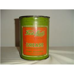 5 lb Fast Mail grease tin