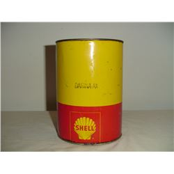 5 lb Shell grease tin