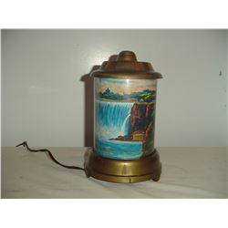 1950's Niagra falls motion lamp working condition