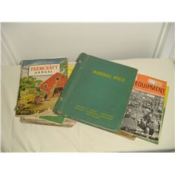 large lot farm manuals and catalogs