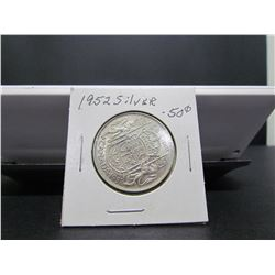 1952 Canadian Silver50 cents