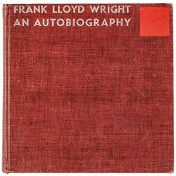 1943 FRANK LLOYD WRIGHT Signed First Edition Autobiography