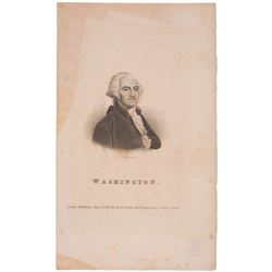 Washington Print, 1823 by W. Head