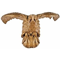 American Federal Period Decorative Carved Wooden Eagle