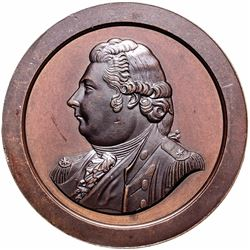 1800 Captain Thomas Truxtun Medal, Julian NA-2 Finest of Only 25 Known NGC MS-66