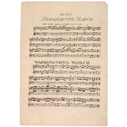 Early Political Sheet Music, c. 1815
