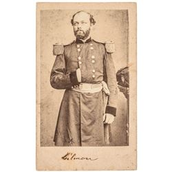 Quincy Adams Gillmore Civil War Brady Carte de Visite Fort Wagner + 54th Mass.