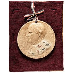 Macerated Currency, William McKinley Portrait Medal Design - Treasury Department