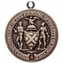 1903 Tiffany + Co. New York City 250th Anniversary Silver School Award Medal