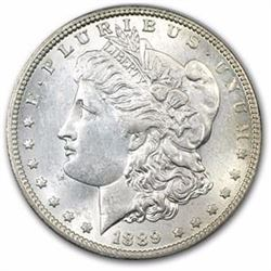 1889-O Morgan Dollar BU MS-63