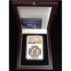 2016 Cuhna Silver Crown Queen Elizabeth II 90th Birthday NGC PF69 Ultra Cameo