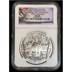 2016 Eastern Grey Kangaroo NGC MS69 Early Release