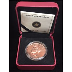 2009 King Edward VII Medallion