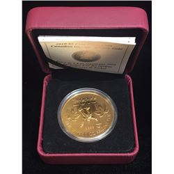 2010 $5 Canadian Olympic Gold