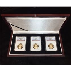 2016 Presidential $1 Set of 3 NGC PF 70 Ultra Cameo