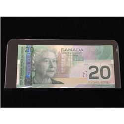 2005 $20 BC64a Two-Digit Radar