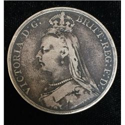 1892 British Crown Queen Victoria
