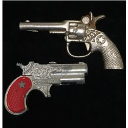Lot of 2 Derringer & Daisy Cap Gun Collecitble