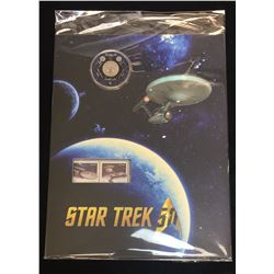 2016 Star Trek Enterprise Coin & Stamp Set