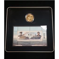 2010 100th Anniversary of the Canadian Navy Coin and Stamp Set