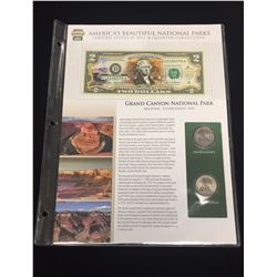2003 $2 Grand Canyon National Park Bill & Quarter Collection