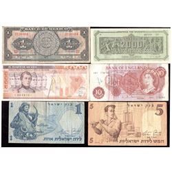 Lot of 10 - World Banknotes