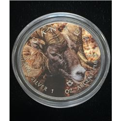 2016 $5 Wildlife - Bighorn Sheep