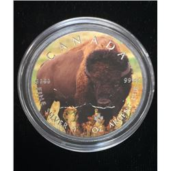 2016 $5 Wildlife - Bison