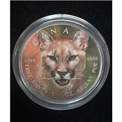 2016 $5 Wildlife - Cougar