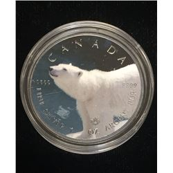 2016 $5 Wildlife - Polar Bear