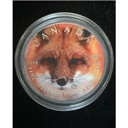 2016 $5 Wildlife - Red Fox