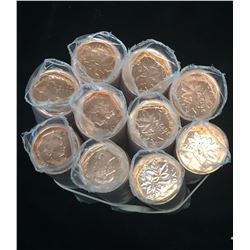 2012 1-Cent Non-Magnetic Rolls
