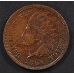 "1864 ""L""  INDIAN CENT, XF KEY DATE"