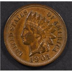 1901 INDIAN CENT, CH BU
