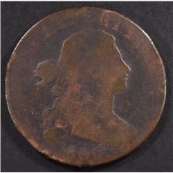 1800/79 DRAPED BUST LARGE CENT, G+