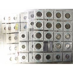 $14.45 90% SILVER MIXED DIMES & QUARTERS