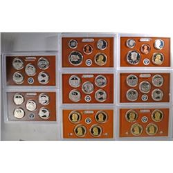 2-2011 United States Mint Proof Sets and 2-2011 St